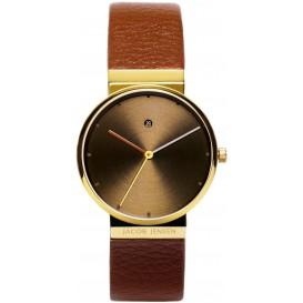 "Watch 854 Stainless Steel Sapphire Jacob Jensen ""dimension"". Horloge"