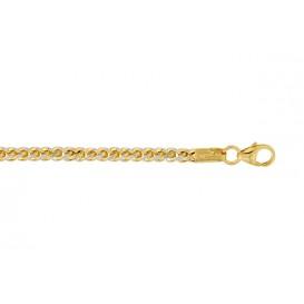 Glow Gouden Schakelarmband 19 cm lang en 2.5 mm dik 204.5008.19