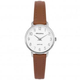 Prisma Horloge P.1731 Dames Edelstaal Saffierglas P.1731 Dameshorloge 1