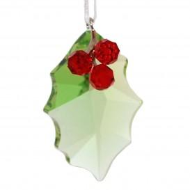 Swarovski Ornament 870001 Holly hulstblad