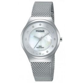 Pulsar Dameshorloge Zilverkleurige Milanese band PH8131X1