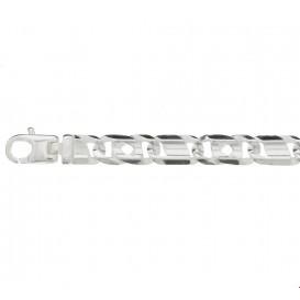 Armband Zilver Arendsoog 7 mm 20 cm