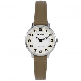 Prisma horloge P.1846 Dames Edelstaal Saffier 5 ATM P.1846 Dameshorloge 1