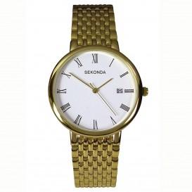 Sekonda Horloge 3683 Heren Staal Datum SEK.3683 Herenhorloge 1