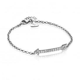 Zinzi ZIA1064 zilveren armband met zirkonia
