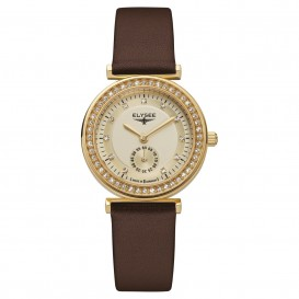 Elysee Horloge 44007 Dames Maia Edelstaal EL.44007 Dameshorloge 1