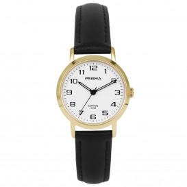 Prisma Horloge 1749 Dames Edelstaal IPG met Saffierglas P.1749 Dameshorloge 1