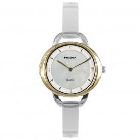 Prisma horloge P.1468 dames edelstaal parelmoer 5 ATM P.1468 Dameshorloge 1