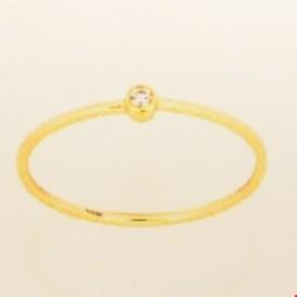TFT Ring Diamant 0.015ct H P1 Geelgoud