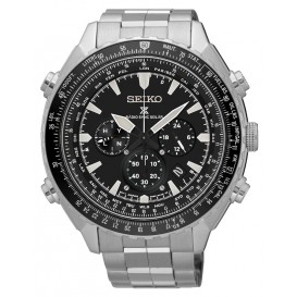 Seiko Prospex Herenhorloge Solar,Worldtimer Chronograaf TV model 2016 SSG001P1