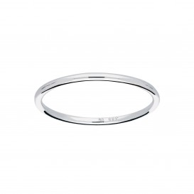 Glow 214.3050.50 Ring witgoud bol 1,2 mm