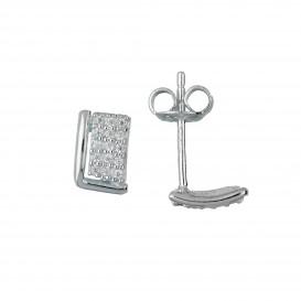 Zilveren Oorbellen met zirconia 106.0853.00