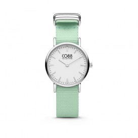 CO88 Collection 8CW-10045 - Horloge - nato band - mint groen - ø 26 mm