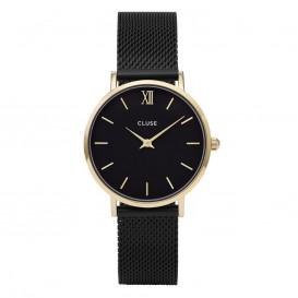 CLUSE CL30026 Horloge Minuit Mesh goudkleurig