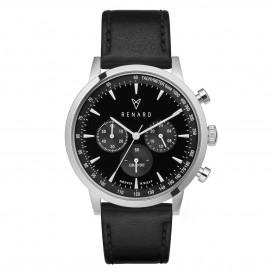 Renard Horloge RC402SS31VBK Grande Chrono black-Veau black