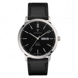Renard Horloge RD381SS30VBK Elite Day Date Black