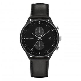 Paul Hewitt Horloge Chrono Line Black zwart 42 mm PH-C-B-BSS-2M