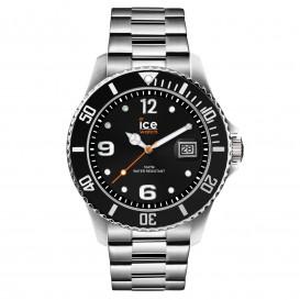Ice-Watch horloge Ice Steel Black-Silver 44 mm IW016032