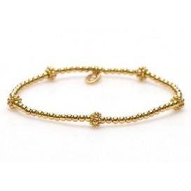Karma Armband 'Bali Style' XS 92259 goudkleurig