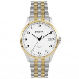Prisma Horloge P.1272 Heren Titanium Saffierglas 10 ATM P.1272 Herenhorloge 1