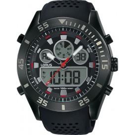Lorus Herenhorloge Digitaal Zwart R2335LX9