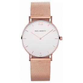 Paul Hewitt Horloge Sailor White Sand rosékleurig PH-SA-R-SM-W-4S