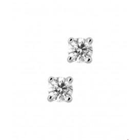 Oorknoppen Diamant 0.30 Ct. Witgoud Glanzend