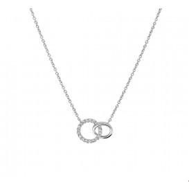 TFT Collier Witgoud Diamant 0.07ct H P1 41 - 43 - 45 cm