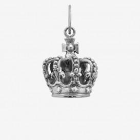 Rebel and Rose RR-PD001-S Zilveren Hanger Pendant Royal Crown Medium 17mm (M) 1