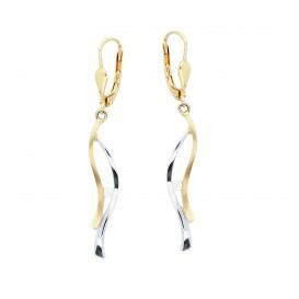Glow Gouden Oorhangers - Diamant 0.07ct. Gh/si3 208.0087.00