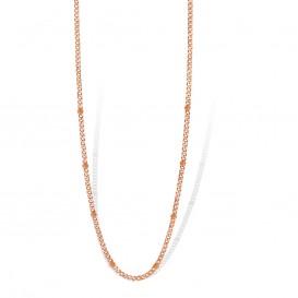 Mi Moneda NEC-03-SPI Necklace Spike Silver Rosegold Plated