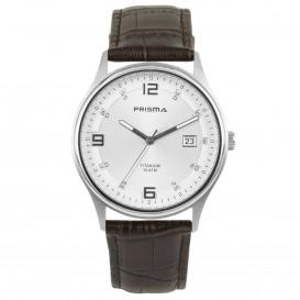 Prisma Horloge 1727 Heren Titanium 10 ATM P.1727 Herenhorloge 1
