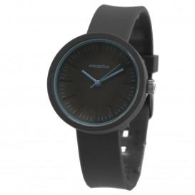 **Prisma horloge P.1252 C011910 Design Mini Simpel Zwart P.1252 Herenhorloge 1