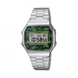 Casio horloge A168WEC-3EF met legerprint