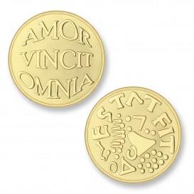 Mi Moneda AMO-02 Avo - Mio goudkleurig Small