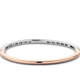 TI SENTO - Milano 2889SR Armband zilver rosékleurig