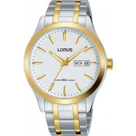 Lorus RXN60DX9 Herenhorloge zilver- en goudkleurig 40 mm