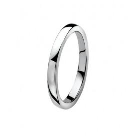 Zinzi ZIR828 zilveren ring Maat 50 is 16mm