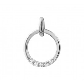TFT Hanger Witgoud Diamant 0.10 Ct.