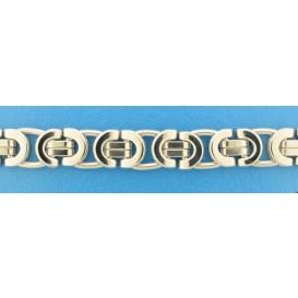 TFT Collier staal Koningsschakel 11,5 mm breed en 67,5 cm lang