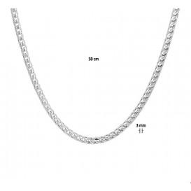 TFT Zilveren Ketting Gourmet 3,0 mm 50 cm