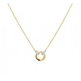 TFT Collier Bicolor Goud Diamant 0.03ct H SI
