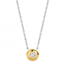 Ti Sento 3886ZY zilveren collier