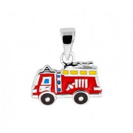 TFT Hanger Zilver Brandweerauto