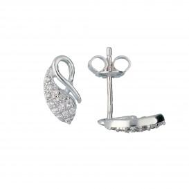 Zilveren Oorbellen met zirconia 106.0854.00