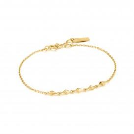 Ania Haie B025-01G armband Zilver Goudkleurig