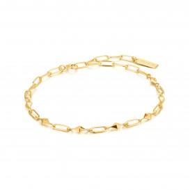 Ania Haie B025-02G armband Zilver Goudkleurig