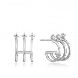 Ania Haie E023-04H oorbellen Zilver Zilverkleurig