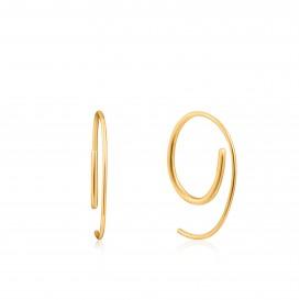 Ania Haie E023-08G oorbellen Zilver Goudkleurig