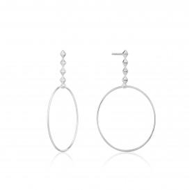 Ania Haie E025-04H oorbellen Zilver Zilverkleurig